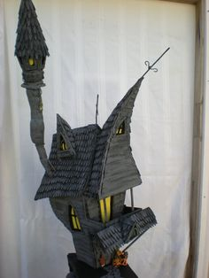 A nightmare before christmas, jacks haunted house. custom order only.. $1.200,00, via Etsy.