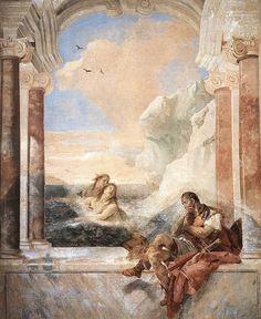villa Valmarana  Thetis consoling Achilles. 1743.  Giovanni Battista Tiepolo.  1280.jpg (819×1001)