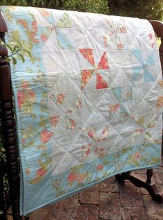 pinwheel quilt e-pattern now at Stitching Cow