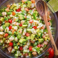 Avocado Shrimp Salsa Recipe (VIDEO)