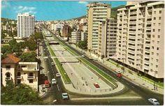Avenida Libertador construida por el presidente Rómulo Betancourt en los años sesenta, pero fue iniciada por Perez Jimenez en 1957. Es la única avenida de Caracas con dos niveles. Recibe su nombre en honor del Libertador Simón Bolívar. Iba a tener 2 km más de extensión, pero el trayecto fue modificado.