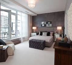 grey brown bedroom - Google Search