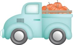 TRUCK FULL OF PUMPKINS