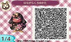 Black kimono by bibi design