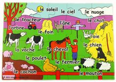 A lovely wooden jigsaw puzzle to help children learn while having fun. Available in 12, 20, 30 or 42 pieces. Comes in 12 languages.