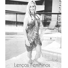 Bandana lenços Femininos www.lencosfemininos.com.br pashminas Renata Romero echarpes maxi colares colar bijus moda fashion feminina roupas acessórios