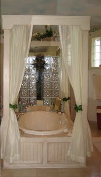 I really wanted a romantic four poster bathtub   in our master bathroom. I enjoy a bubble  bath every night before bed and would love  s...