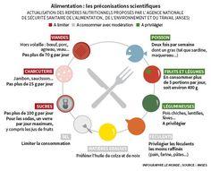 Image result for la santé vient en mangeant infographie