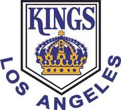 Los Angeles Kings (LA) NHL Hockey Team Logos: 1967 - 1969