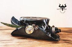 7fa607f0cc5e0 Steampunk Camouflage Pirate Top Hat
