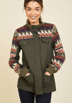 A Trail of Two Cities Jacket, #ModCloth