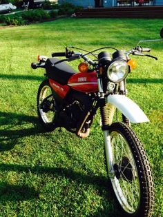 1980 Yamaha DT 175 show room condition