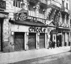 www.madridantiguo.org  Chicote, en Gran Vía 1933