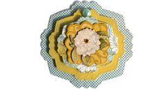 Nature Flowers Scrapbook Embellishment paper piecing by itsmemanon, $2.00