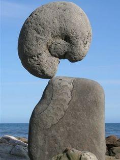 Rock Balancing Art Surreal Nature Art