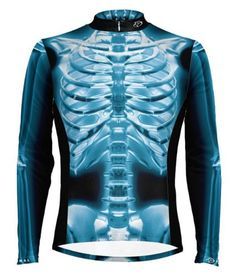 Primal Wear XRay Skeleton Cycling Jersey Mens Long Sleeve XL *** See this great product.