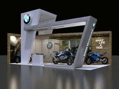 STAND BMW MOTORRAD on Behance