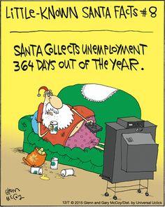 The Flying McCoys by Glenn McCoy and Gary McCoy for December 2015 - Christmas Comics, Christmas Jokes, Christmas Cartoons, Christmas Fun, Xmas Jokes, Funny Cartoons, Funny Comics, Funny Memes, Hilarious