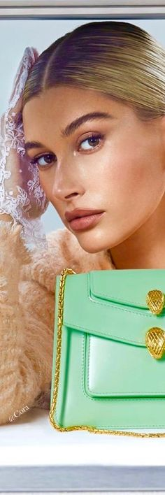 Luxury lifestyle and fashion shopping at Bal Harbour Shops Mint Blue, Mint Color, Bvlgari Accessories, Bal Harbour Shops, Fashion Lighting, Hailey Baldwin, Colorful Fashion, Supermodels, Celebrity Style