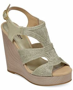 Lucky Brand Women's Rosiee Platform Wedge Sandals - Shoes - Macy's