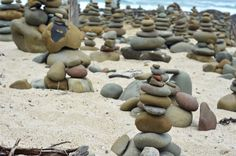 Made this little rock pile while passing through the #greatoceanroad #nikon by dsinimbu1