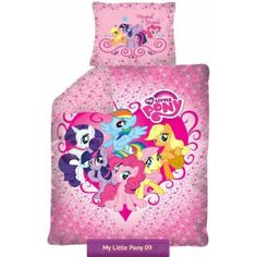 My Little Pony Friendship Is Magic Girls Bedding Set With Ponies | Pościel  Kucyki Pony Przyjaźń