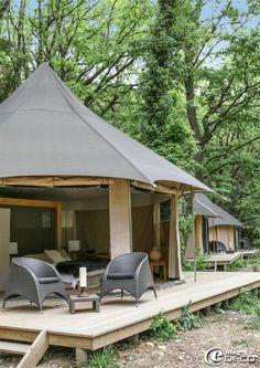 Le Lodge du Pont d'Arc situé dans la Réserve Naturelle Nationale des Gorges de l'Ardèche