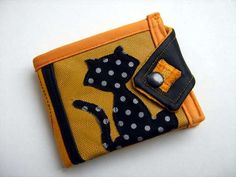 billfold wallet made to order hollow katt by acoupleofconcepts, €26.00