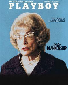 "Playboy, July 1962: ""The Ladies of Madison Avenue"" | Ida Blankenship  #madmen #madmenpics"