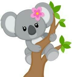 free clip art koala forest animals pinterest clip art free rh pinterest com koala clip art free koala clipart black and white