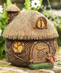 Look at this #zulilyfind! Fairy House Wireless Bluetooth Outdoor Speaker by Plow & Hearth #zulilyfinds
