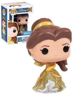 Disney Beauty And The Beast Belle (Sparkle Dress) - Walmart Exclusive - New, Mint Condition - Funko Pop Disney, Film Disney, Disney Belle, Pop Figures Disney, Pop Vinyl Figures, Mode Harry Potter, Funko Pop Dolls, Pop Figurine, Funk Pop