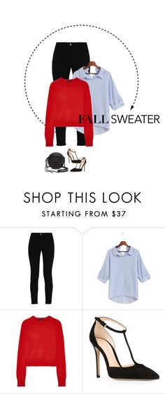 """""""Sweeter Sweater"""" by prilsplace ❤ liked on Polyvore featuring STELLA McCARTNEY, Equipment, Gianvito Rossi and Rebecca Minkoff"""