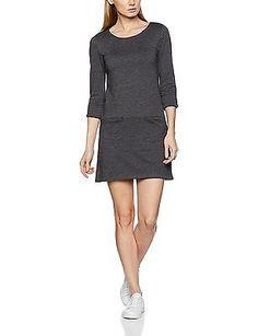 38 ( Medium), Grey (anthracite 5 014), edc by Esprit Women's 126cc1e032 Dress NE