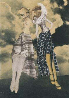 On the Way to Seventh Heaven, 1934 by Hannah Höch *   from Venetian Red   :: hannah hoch - one of my collage masters ::