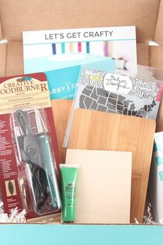 Mail Order Subscription DIY Craft Kits   Apartment Therapy