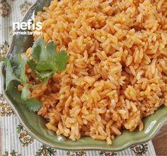 Tereyağlı Domatesli Pirinç Pilavı