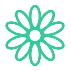 Daisy Flowers Cuttable Design SVG, DXF, EPS use with Silhouette Studio... ($2.99) ❤ liked on Polyvore featuring home, home decor, cricut and vinyl home decor