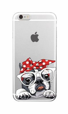 Free Pug product- For iPhone 7 6 Samsung Cute Puppy Pug Bunny Cat Princess Meow French Bulldog Soft Phone Case Cover Coque Funda Iphone 8 Plus, Iphone 7, Coque Iphone, Apple Iphone, Animal Phone Cases, Dog Phone, Cute Phone Cases, Ipod Cases, Iphone7 Case