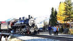 The couple wanted to take a closer look at the train after being told the Queen and Prince...
