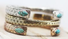Flower of Life Cuff || view more colors