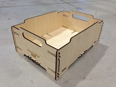 Stackable Box mini - The material is plywood 4mm