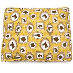 """Ok, so this is one of the most genius products ever... a doggie duvet cover (amazing fabrics to choose from) that you fill with a """"stuff sack"""" (a bag to be filled with your old blankets, pillows, clothes, etc.) You get fabulous design & functional use for a great price! A must see!"""