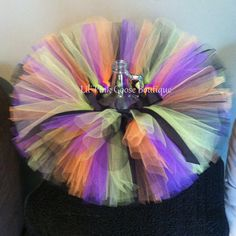 WITCH TUTU Halloween Costume Witch Costume Fall by LilPinkGoose, $26.95
