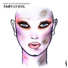 Fairy-Ly-Evil. #Sephora #Sephoraween #Halloween #MAKEUPFOREVER