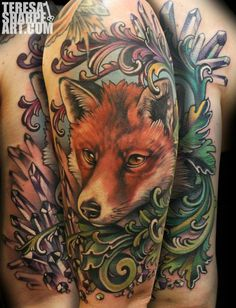 Great colors and shading. Fack that's incredible