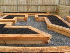 garden ideas raised bed design by lois