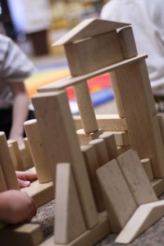 Developmental Stages of Block Play