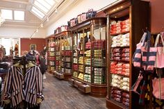 Antique shop fittings at Jack Wills, by Andy Thornton