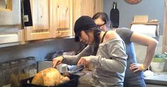 It's The Perfect Thanksgiving Prank… Watch The Hilarious Moment She Fell For It. - http://www.lifebuzz.com/stuffing/
